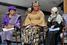 Элен Джонсон-Серлиф (Либерия), Тавакуль Карман (Йемен) и Лейма Гвоби (Либерия)