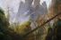 «Скалистое ущелье», Каспар Давид Фридрих