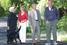 Экс-президент США Джордж Буш, президент России Владимир Путин, Людмила Путина и Барбара Буш в резиденции российского президента «Бочаров ручей» в Сочи, сентябрь 2003 года