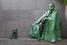 Памятник Франклину Рузвельту и терьеру Фала в Вашингтоне