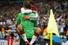Ветеран сборной Германии и лучший бомбардир в истории чемпионатов мира Мирослав Клозе обнимает голкипера Мануэля Нойера