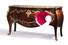 Люминесцентная мебель в стиле Людовика XV дизайнера Ферруччо Лавиани для Fratelli Boffi