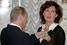 Путин и актриса Ольга Дроздова, 2006 год