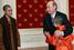 В рамках года Китая в России Владимир Путин принял в Кремле монахов из монастыря Шаолиня. 27 март 2007 года.