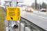 Светофор с кнопкой на пешеходном переходе