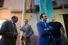 Ректор Московской школы управления СКОЛКОВО Андрей Шаронов и Гор Нахапетян (в центре)