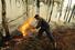 Пожар у села Деулино (Рязанская область)