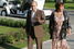 Владимир Путин и Людмила Путина направляются на неформальный ужин с Джорджем Бушем и Лорой Буш, 2006 год