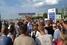 На второй день протестов, 8 июля, жители Пугачева решили перекрыть автомобильную трассу Саратов — Самара