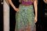Платье в пол с расклешенной юбкой и американской проймой в эко-стиле