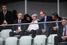 Слева направо: Владимир Путин, Берни Эклстоун, член Международного олимпийского комитета Жан-Клод Кили и президент Международной федерации хоккея Рене Фазель