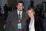Предприниматель Ян Яновский с бывшим главным редактором РИА «Новости» Светланой Миронюк на вечеринке Сбербанка