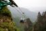 Канатная дорога в парке Чжанцзяцзе (Китай): самая крутая