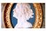 Фарфоровый медальон XVIII века с изображением Петра I