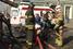У закрытой на вход станции «Охотный ряд» дежурили около 10 карет «скорой помощи»