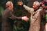 Мандела и кубинский лидер Фидель Кастро. 1998 год
