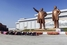 Памятник Ким Чен Иру и Ким Ир Сену в Северной Корее