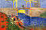 «Мост Ланглуа в Арле и стирающие женщины», Винсент Ван Гог