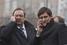 Бывший депутат Госдумы Геннадий Гудков (слева) и депутат Госдумы Дмитрий Гудков