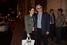 Президент РСПП Александр Шохин с дочерью Евгенией на вечеринке банка «Открытие»