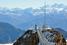 Подвесной мост на леднике Glacier 3000