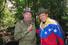 13 августа 2001 года. Уго Чавес и Фидель Кастро