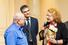 Дмитрий Зимин (основатель компании «Вымпелком»), Эльмар Муртазаев (Forbes), Регина фон Флемминг («Аксель Шпрингер Раша»)