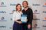 Бронзовый призер конкурса Марина Домрачева, 3D Smile и ее куратор Матиас Эклеф, Yell.ru