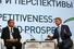 Министр экономического развития России Алексей Улюкаев и председатель правления Сбербанка Герман Греф (№5 в рейтинге 25 самых дорогих топ-менеджеров России по версии Forbes, компенсация $15 млн)