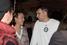 Миллиардер Михаил Прохоров и главный редактор телеканала «Дождь» Михаил Зыгарь на вечеринке в клубе «Шатуш»