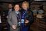 Генеральный директор холдинга «Объединенные медиа» Михаил Бергер и Регина фон Флемминг на вечеринке банка «Открытие»