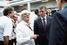 Президент Formula 1 Берни Эклстоун и Дмитрий Козак