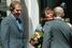 Путин приветствует супругу премьер-министра Великобритании Шери Блэр