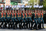 Знаменные группы, почетный караул и линейные были сформированы из военнослужащих 154-го отдельного комендантского Преображенского полка