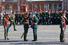 Последние приготовления к Параду Победы, о начале которого ровно в 10.00 возвестили Кремлевские куранты