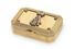 Императорская подарочная табакерка из золота, украшенная бриллиантами, работы мастера Фридриха Кехли