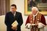 11 мая 2006 года. Уго Чавес и Папа Римский Бенедикт XVI