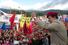1 февраля 2002 года. Уго Чавес на митинге своих сторонников в городке Сан-Кристобаль