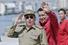 13 июня 2007 года. Рауль Кастро и Уго Чавес на набережной Малекон в Гаване