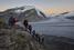 На фото: август 2015 года. Швейцария. Один из самых больших ледников - Большой Алечский ледник - находится под угрозой исчезновения из-за климатических изменений.