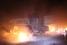 Последствия обстрела блокпоста под Мариуполем после подписания перемирия