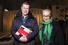 Иван Демидов, телеведущий, и Ольга Свиблова, директор Мультимедиа Арт Музея