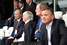 Президент России Владимир Путин с Берни Эклстоуном. На заднем плане – президент