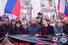 Слева направо: Геннадий Гудков, главный редактор «Нового литературного обозрения» Ирина Прохорова, лидер партии ПАРНАС Михаил Касьянов, заместитель председателя партии ПАРНАС Илья Яшин