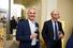 Генеральный директор World Class Николай Прянишников (слева), председатель совета директоров МДМ-Банка Олег Вьюгин