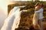 Свадьба у водопада Виктория (Замбия)