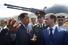 27 ноября 2008 года. Уго Чавес и Дмитрий Медведев на борту большого противолодочного корабля «Адмирал Чабаненко»