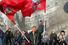 Участник митинга на Васильевском спуске