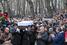 Гроб политика из Сахаровского центра выносили под аплодисменты собравшихся