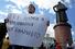 Лозунг, в котором сходятся все участники митинга на Суворовской площади